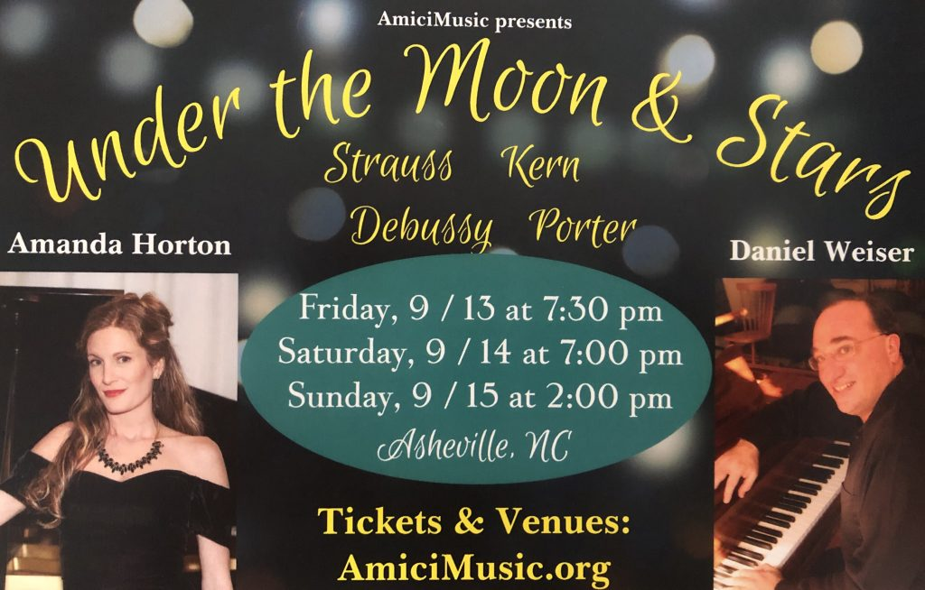 Under the Moon & Stars-September 2019